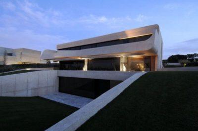 Entrée garage - Designs-Sculptural par A-Cero - Madrid, Espagne