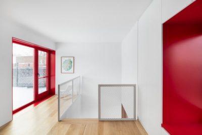 Espace second étage - Residence Hotel-de-Ville par Architecture Microclimat - Montreal - Canada_14