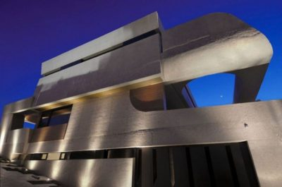 Façade béton teinté - Designs-Sculptural par A-Cero - Madrid, Espagne