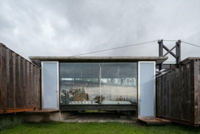 Façade baie vitrée - RDP-House par Daniel Moreno Flores pichincha, Equateur