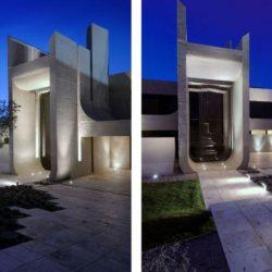 Façade entrée - Designs-Sculptural par A-Cero - Madrid, Espagne