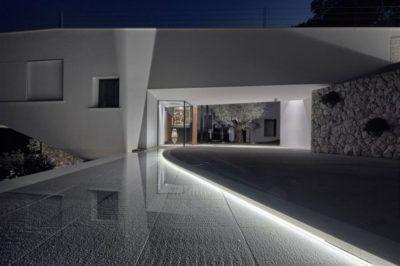 Façade entrée principale - Contemporary-Villa par A2CM - Ceschia Mentil - France