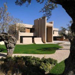 Façade jardin - Designs-Sculptural par A-Cero - Madrid, Espagne