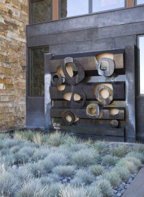Façade jardin - Home-Aspen par KH Webb - Colorado, Etats-Unis