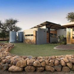 Façade jardin - House-Mouton par Earthworld Architects - Pretoria, Afrique du Sud