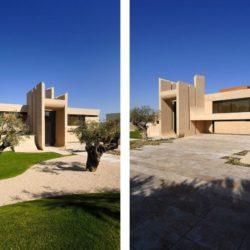 Façade jardin & grande terrasse - Designs-Sculptural par A-Cero - Madrid, Espagne