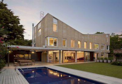 Façade jardin & piscine - House-Martinez par m-sg-s-s-s - Martínez, Argentine