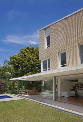 Façade jardin & terrasse - House-Martinez par m-sg-s-s-s - Martínez, Argentine