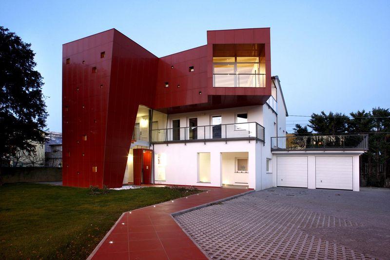 Façade jardin & terrasse - Villa-Nesi par Archisbang Architects - Ivrea, Italie