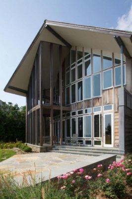 Façade ouvertures vitrées - Sidorenko par Pella Corporation - Connecticut, USA