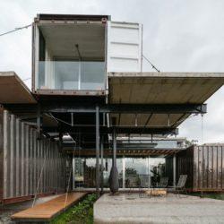 Façade terrasse - RDP-House par Daniel Moreno Flores pichincha, Equateur