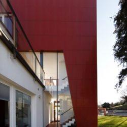 Façade terrasse - Villa-Nesi par Archisbang Architects - Ivrea, Italie