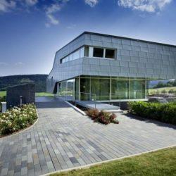 Façade terrasse & jardin - High-Tech-Modern-Home par Eppler Buhler, Allemagne