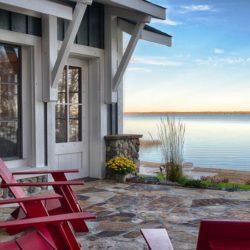 Façade terrasse & vue panoramique fleuve - Green-Fern par RemWhirl Architecture - USA