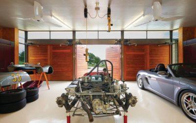 Garage - Glass-House par Jim Gewinner Texas, USA