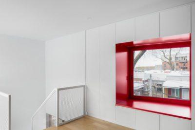 Grande ouverture étage - Residence Hotel-de-Ville par Architecture Microclimat - Montreal - Canada_13
