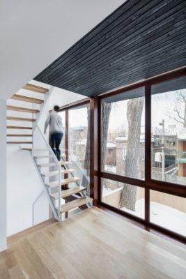 Grande ouverture vitrée - Residence Hotel-de-Ville par Architecture Microclimat - Montreal - Canada_11