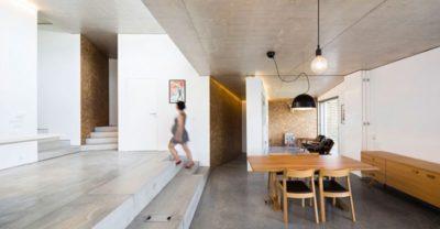 Grande pièce principale & salle séjour - Contemporary-Rural-Home par Camarim Arquitectos - Gateira, Portugal