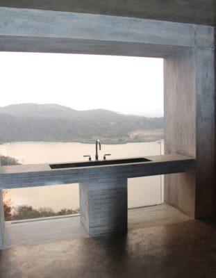 Lavabo - Gota-Dam-Residence par Sforza Seilern - Afrique-Est