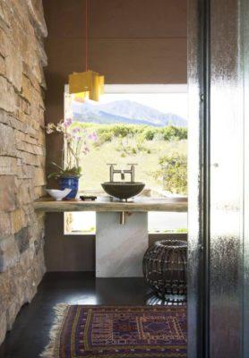 Lavabo - Home-Aspen par KH Webb - Colorado, Etats-Unis