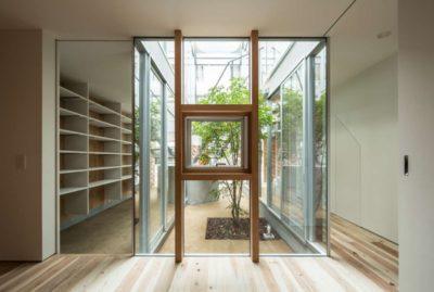 Mii jardin - Twin-House par Masahiro Miyake - Kochi, Japon