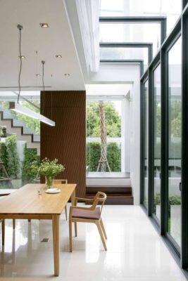 Mini salle séjour - chokchai-4-house par Archimontage Design - Bangkok, Thailande