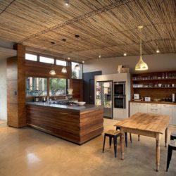 Mini salle séjour & cuisine - House-Mouton par Earthworld Architects - Pretoria, Afrique du Sud