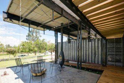 Mini salle séjour extérieure - RDP-House par Daniel Moreno Flores pichincha, Equateur