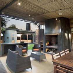 Mini salon secondaire & salle séjour - House-Mouton par Earthworld Architects - Pretoria, Afrique du Sud