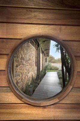 Ouverture ronde - House-Mouton par Earthworld Architects - Pretoria, Afrique du Sud