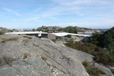 Partie site rocheux - Lyngholmen par Lund Hagem - Lillesand, Norvege