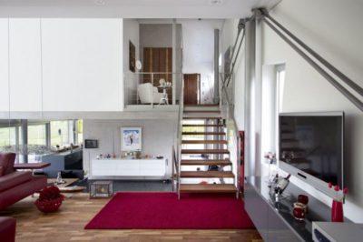 Pièce de vie - High-Tech-Modern-Home par Eppler Buhler, Allemagne