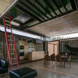 Pièce de vie - RDP-House par Daniel Moreno Flores pichincha, Equateur