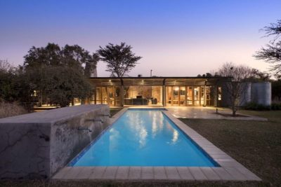 Piscine - House-Mouton par Earthworld Architects - Pretoria, Afrique du Sud