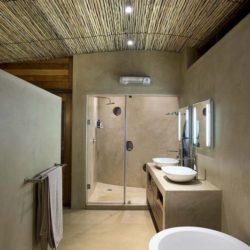 Salle de bains - House-Mouton par Earthworld Architects - Pretoria, Afrique du Sud
