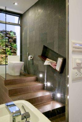 Salle de bains - chokchai-4-house par Archimontage Design - Bangkok, Thailande