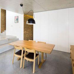 Salle séjour - Contemporary-Rural-Home par Camarim Arquitectos - Gateira, Portugal