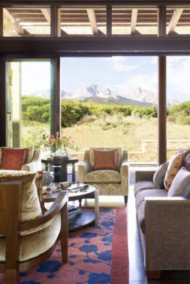 Salon & grande baie vitrée - Home-Aspen par KH Webb - Colorado, Etats-Unis