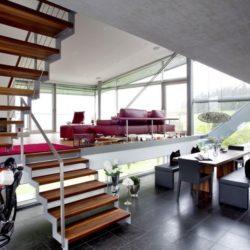 Salon & salle séjour - High-Tech-Modern-Home par Eppler Buhler, Allemagne
