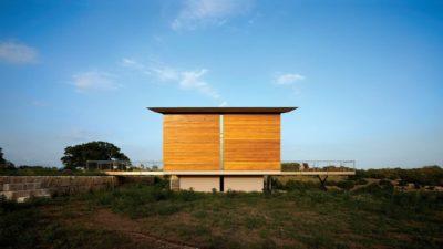 Seconde demeure site - Glass-House par Jim Gewinner Texas, USA