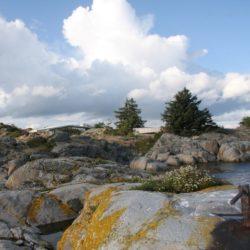 Site rocheux - Lyngholmen par Lund Hagem - Lillesand, Norvege