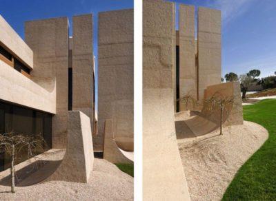 Struture pilonne béton - Designs-Sculptural par A-Cero - Madrid, Espagne