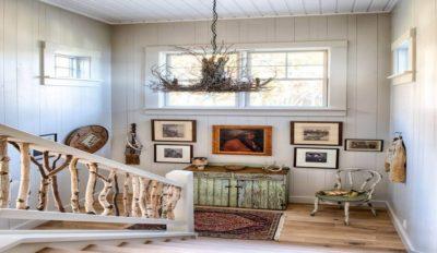 Tableaux déco & escalier bois - Green-Fern par RemWhirl Architecture - USA