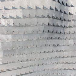 Toiture en treillis métallique - Casa-del-Ancantilado par Gilbartolome Architects - Salobrena, Espagne