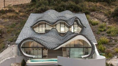Casa-del-Ancantilado par Gilbartolome Architects - Salobrena, Espagne