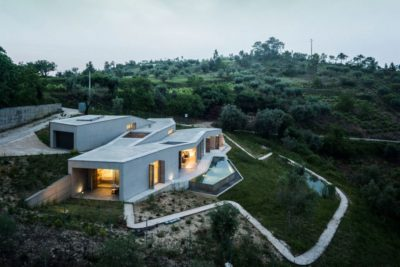 Contemporary-Rural-Home par Camarim Arquitectos - Gateira, Portugal