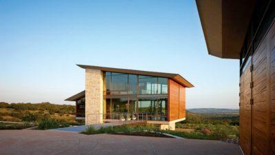 Glass-House par Jim Gewinner Texas, USA