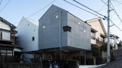 Twin-House par Masahiro Miyake - Kochi, Japon