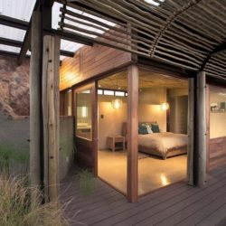 Vue chambre principale - House-Mouton par Earthworld Architects - Pretoria, Afrique du Sud