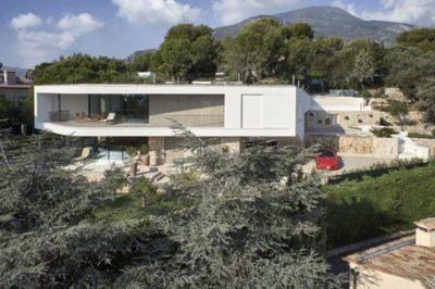Vue d'ensemble - Contemporary-Villa par A2CM - Ceschia Mentil - France